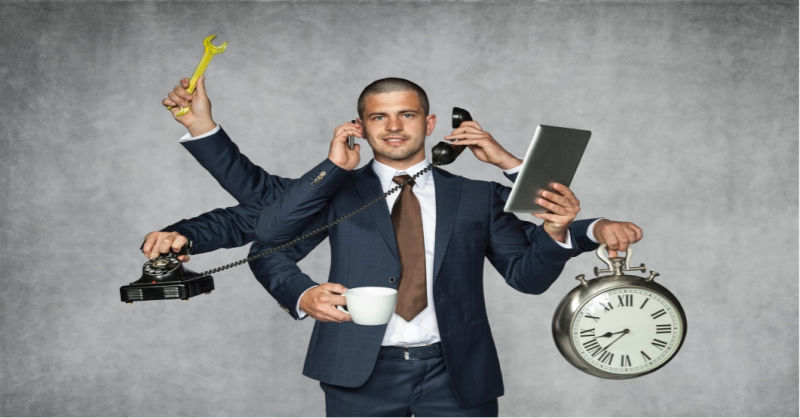 One Man Marketing Department