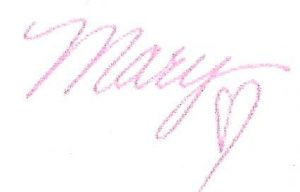Signature - Mary Morrissey