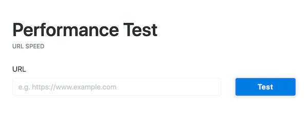 test-ttfb