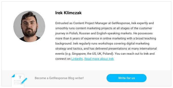 About the Author - Irek Klimczak
