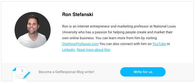 About the Author - Ron Stefanski