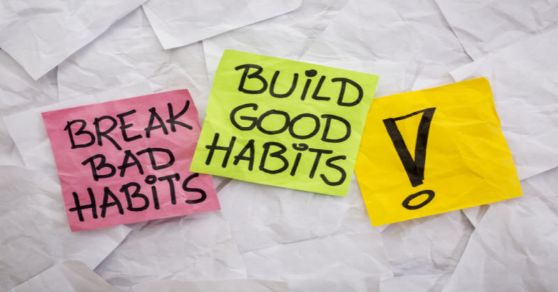 3 Steps to Breaking Bad Habits
