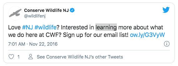 Conserve Wildlife NJ