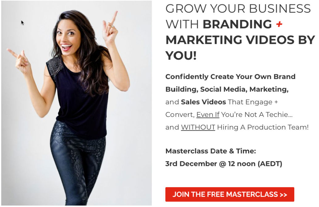 Join the Free Masterclass