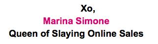 Queen of Slaying Online Sales