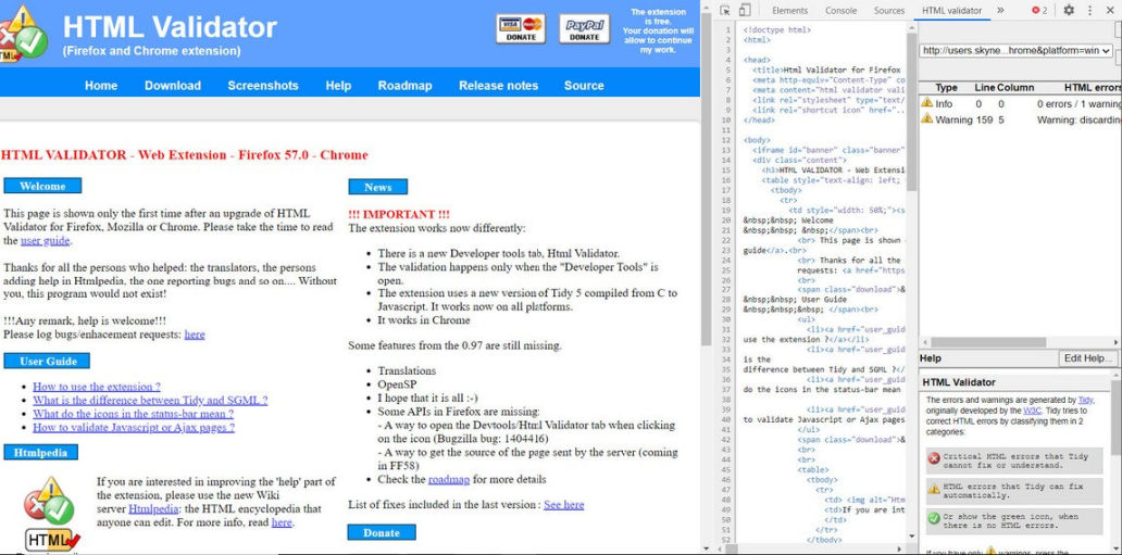 html-validator-chrome-extension2