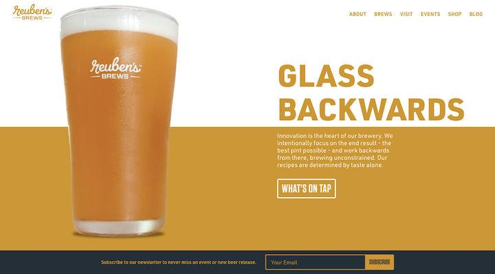 reubens-brews-modern-banner-design