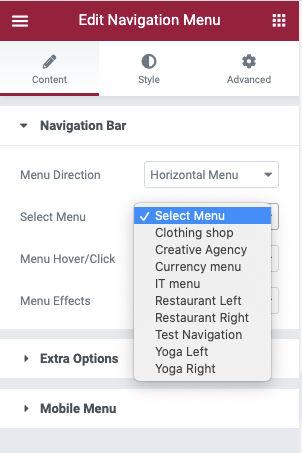 select-menu