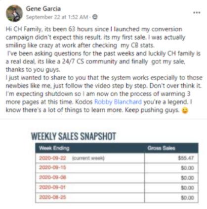 Gene Garcia - Weekly Sales Snapshot