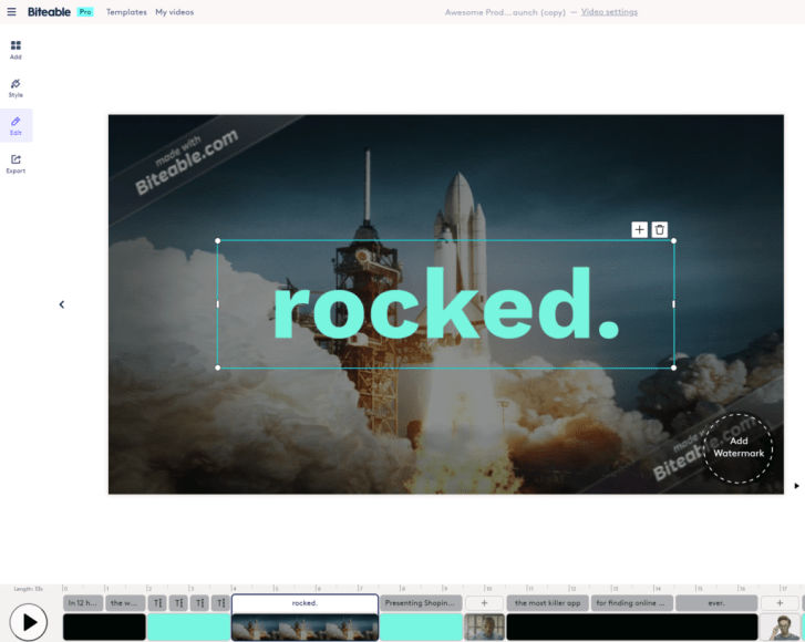 Biteable-video-editor