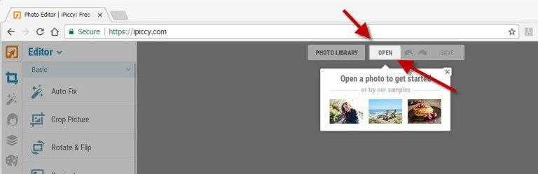 ipiccy-homepage-open-tny