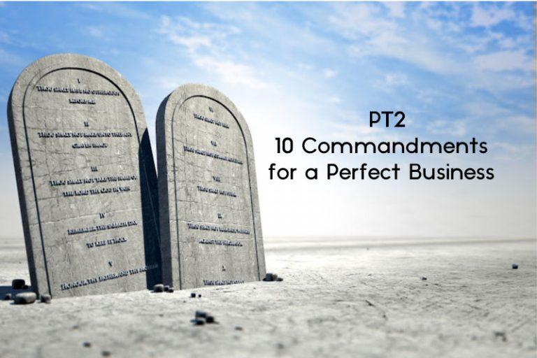 [PT2] 10 Commandments