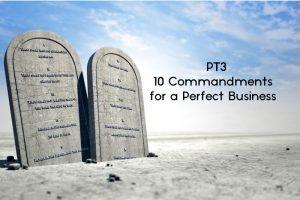 [PT3] 10 Commandments