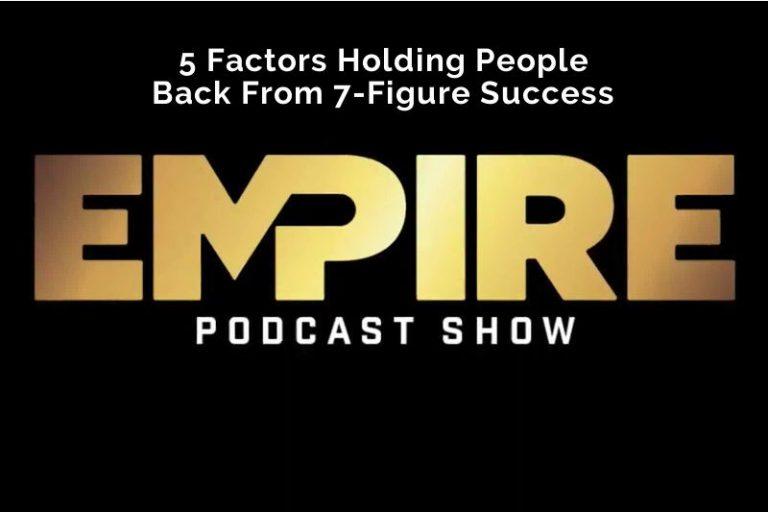 5 Factors Holding People Back