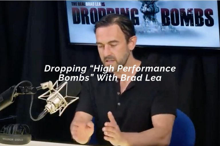 """Dropping """"High Performance Bombs"""" With Brad Lea"""