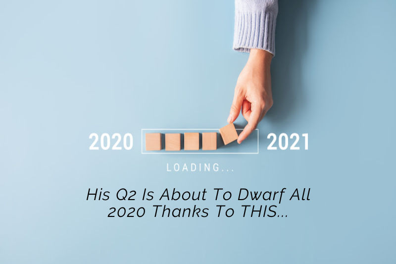 His Q2 Is About To Dwarf All 2020 Thanks To THIS