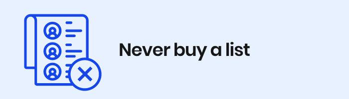 Never-buy-a-list