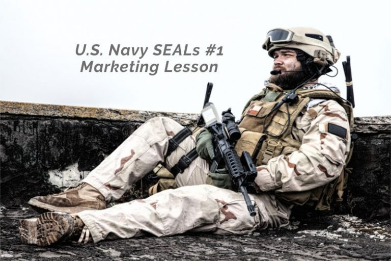 U.S. Navy SEALs #1 Marketing Lesson