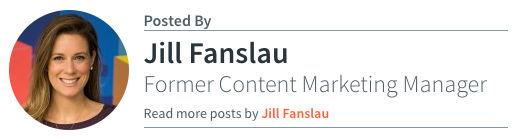 Jill Fanslau - Former Content Marketing Manager